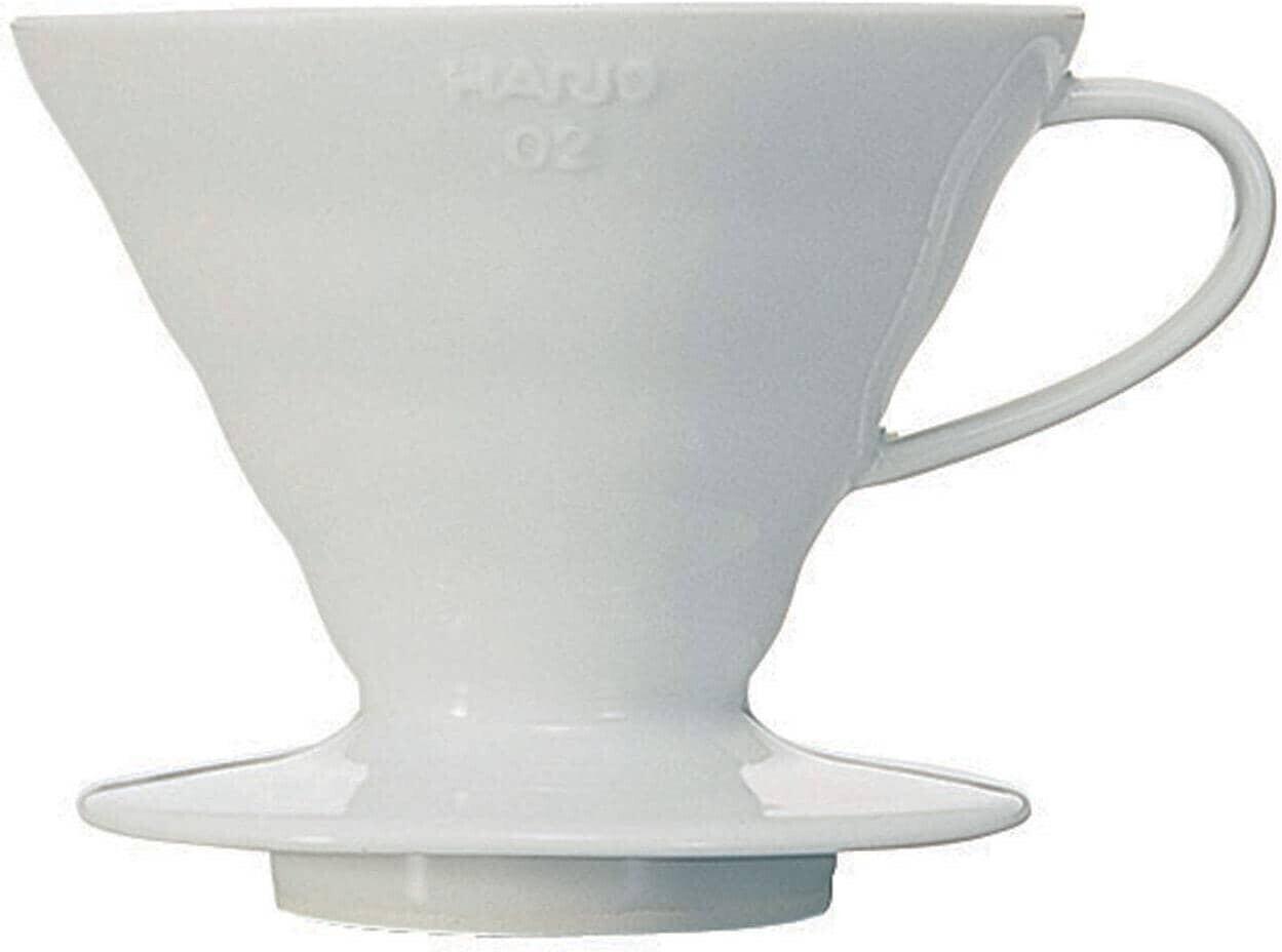 Hario Kaffeefilter aus Keramik VDC-02W (V60 02) weiß