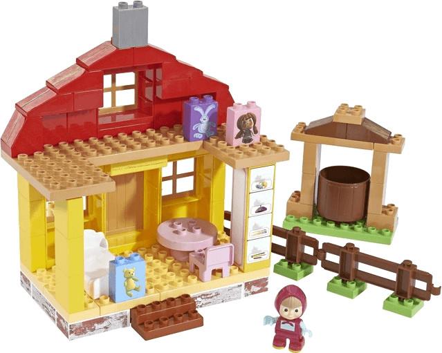 Big PlayBIG Bloxx Mascha und der Bär - Maschas Home