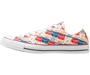 Converse Andy Warhol Ox - white/casino/blue