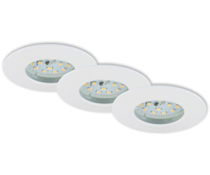 Briloner LED-Bad-Einbauleuchte Set (3 Stk.) ab 58,05 ...
