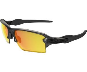 Oakley Sonnenbrille Flak 2.0 XL Sapphire Iridium Polished Black Brillenfassung - Sportbrillen hWS9QW8i,
