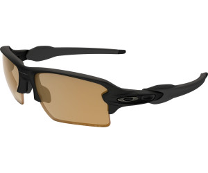 Oakley Flak 2.0XL Black Bronze Polarized Sonnenbrille Schwarz E02uH