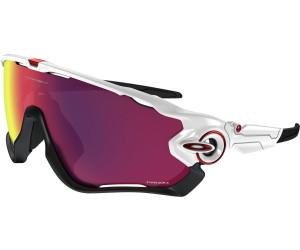 Oakley Jawbreaker Prizm Road Sonnenbrille Grau/Rot pU7a08