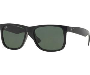 50003a1bfe55a9 Ray-Ban Justin RB4165 601/71 (black/green) ab 70,49 ...