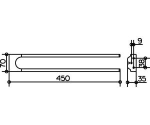 Keuco Moll Handtuchhalter 2 Armig 12718010000 Ab 46 90