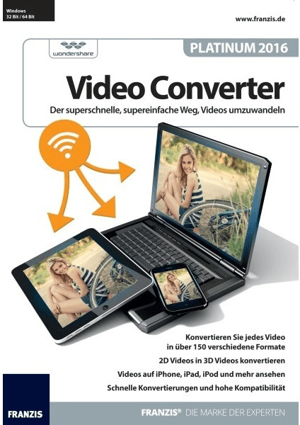 Franzis Video Converter Platinum 2016