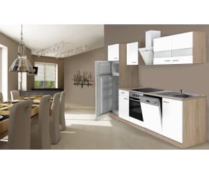 Respekta Küchenzeile 280cm weiß mit Geräten ab € 1.158,00 ...