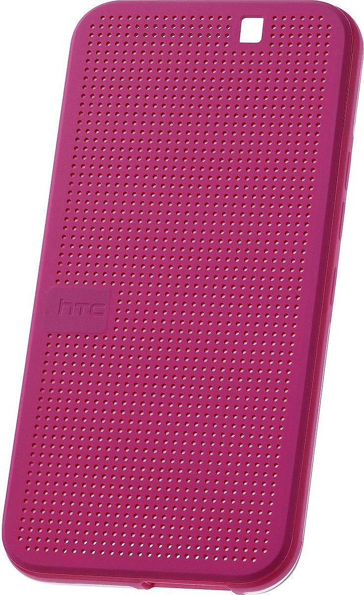 Image of HTC Dot View Case pink (One M9)