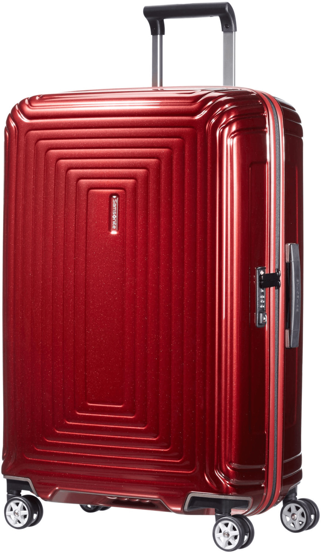 Samsonite Neopulse Spinner 69 cm metallic red