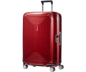 Valise rigide Samsonite Neopulse 75 cm - 4 roues Metallic Red rouge OVA0bFMUd