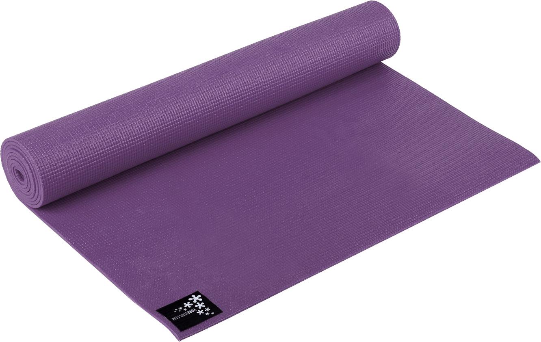 Yogistar Yoga mat Plus 195 x 61 x 0,5 cm aubergine