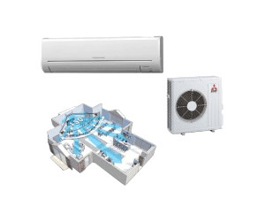 Mitsubishi Electric Basic 1x Msz Gf71ve 1x Muz Gf71ve Ab 1655