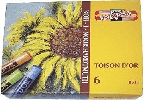 Koh-I-Noor Pastellkreide 12 Farben