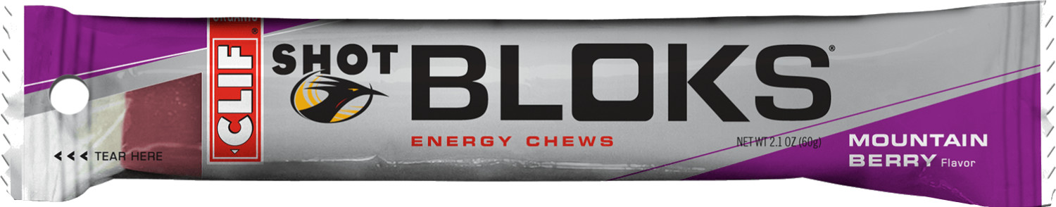 Clif Shot Bloks Mountain Berry 18 x 60g