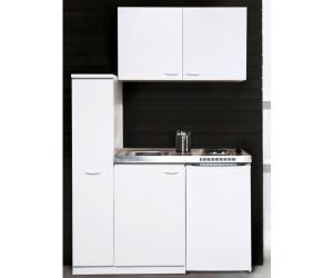 Miniküche Mit Kühlschrank 130 Cm : Respekta miniküche weiß duokochfeld mk wos ab