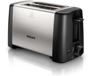 PHILIPS HD 4825//00 Toaster Edelstahl 800W Leistung Weiß 2-Scheiben