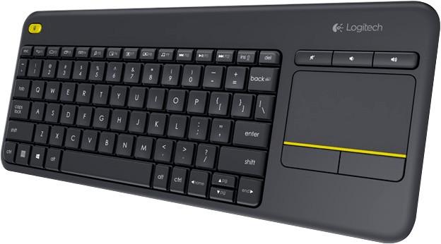 Logitech K400 Plus Wireless Touch Tastatur DE
