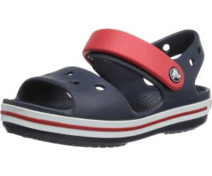 Chaussures Crocs Crocband Sandal Kids Navyred I3Alf