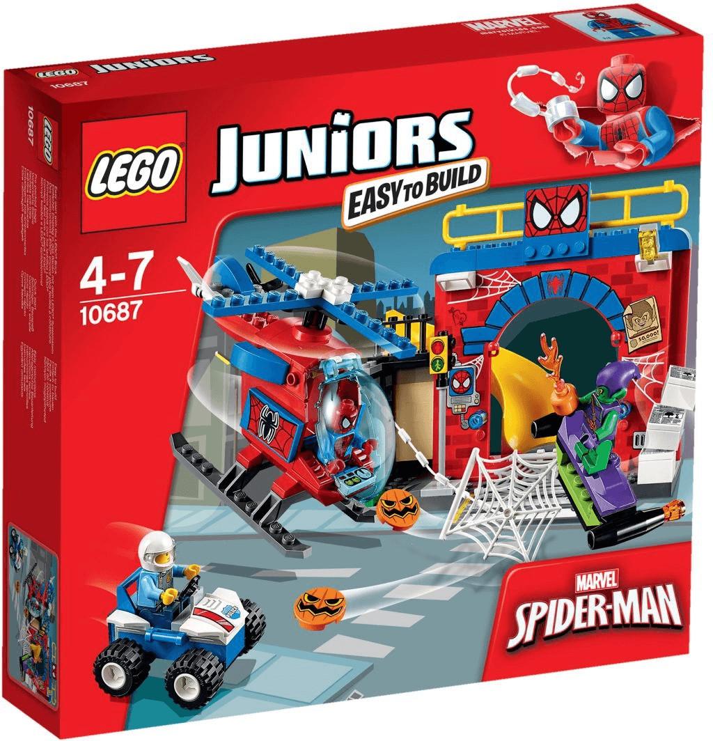 LEGO Juniors - Spider-Man Versteck (10687)