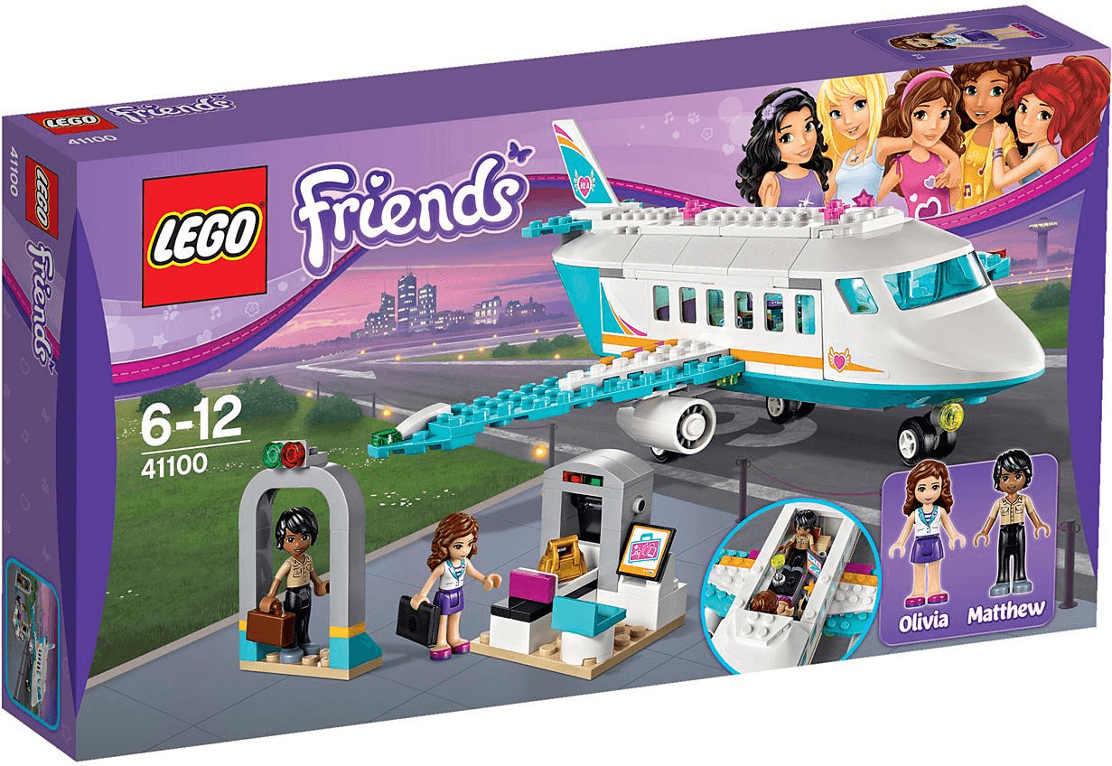 LEGO Friends - L'avion privé de Heartlake City (41100)