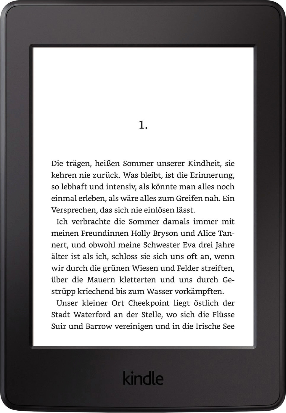 Kindle Paperwhite WiFi schwarz (2015)