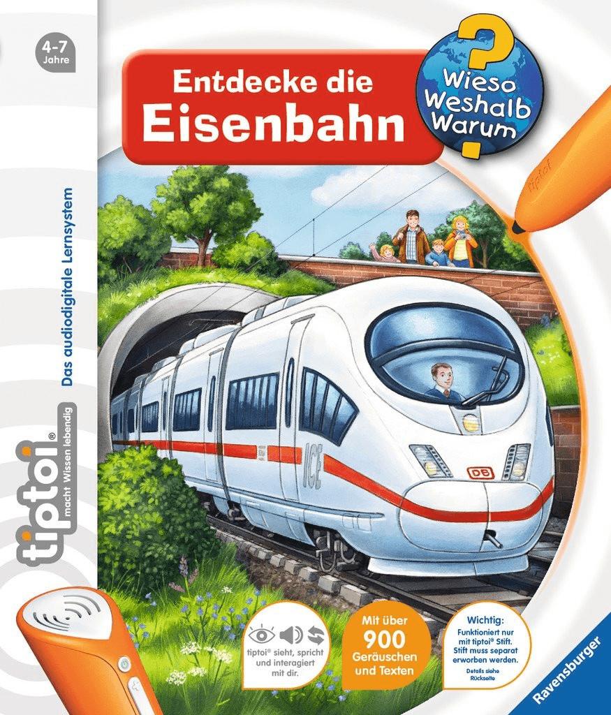 Ravensburger tiptoi - Entdecke die Eisenbahn