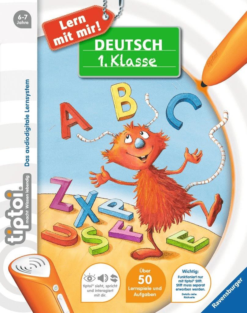 Ravensburger tiptoi - Lern mit mir! - Deutsch 1.Klasse
