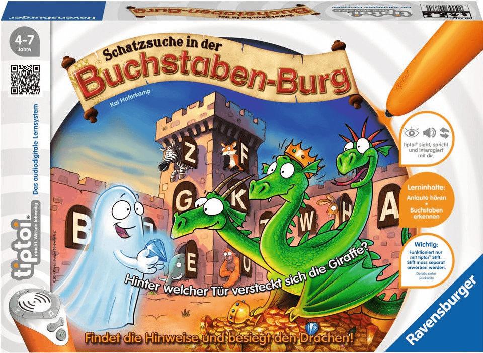 Ravensburger tiptoi - Schatzsuche in der Buchstabenburg (007370)
