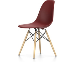 vitra eames plastic side chair dsw oxidrot ab 349 00. Black Bedroom Furniture Sets. Home Design Ideas