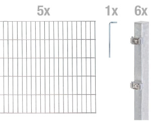 Gah Alberts Zaun Set Doppelstabmatte Bxh 10 M X 140 Cm Ab 344 99