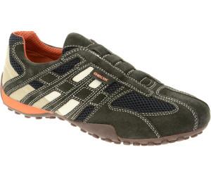 Buy Geox U Snake L (U4207L) dark grey off white from £72.66 ... 8976627ca46