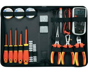 toolcraft vde werkzeugset f r den elektriker 50 tlg 1177223 ab 59 50 preisvergleich bei. Black Bedroom Furniture Sets. Home Design Ideas