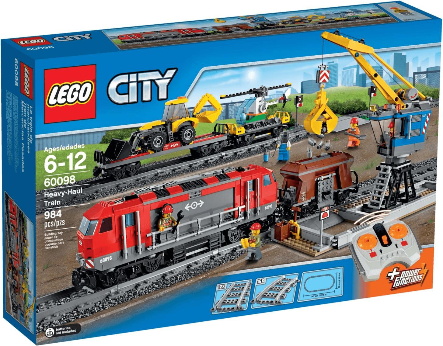 LEGO City - Tren de Mercancías Pesadas (60098)