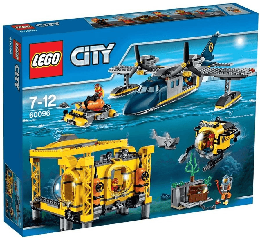 LEGO City - Tiefsee-Station (60096)