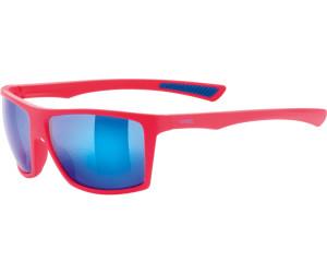 Uvex Fahrradbrille Lifestyle Sonnenbrille lgl 34 blue-pink 1U3fk