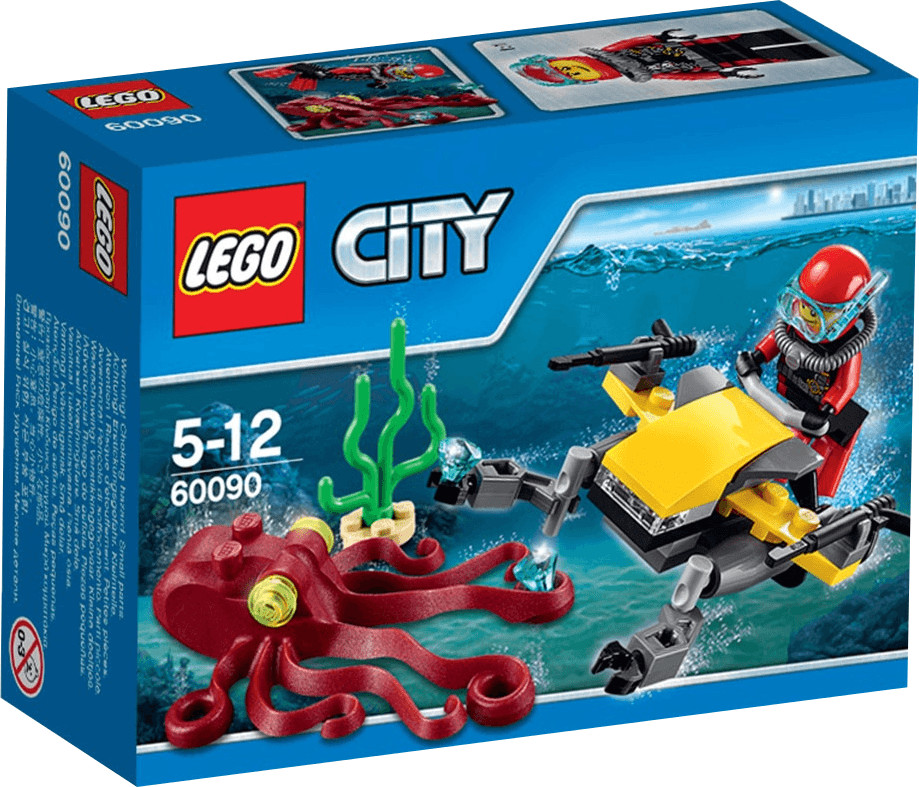 LEGO City - Tiefsee Tauchscooter (60090)