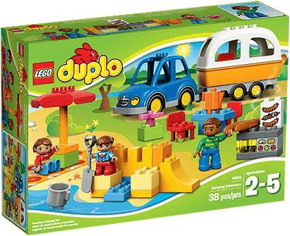 LEGO Duplo - L'aventure au camping (10602)