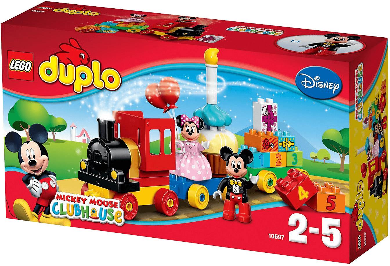 LEGO Duplo - La parade d'anniversaire de Mickey et Minnie (10597)