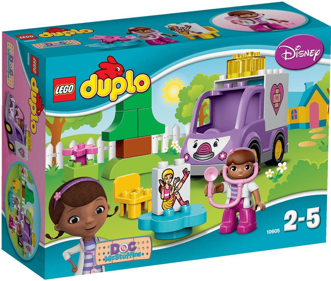 LEGO Duplo- Rosie l'ambulance de Docteur la Peluche (10605)
