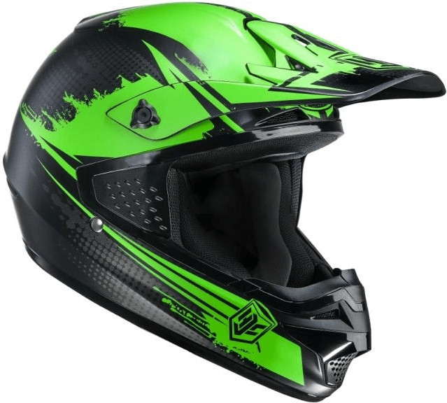 HJC CS-MX Zealot grün