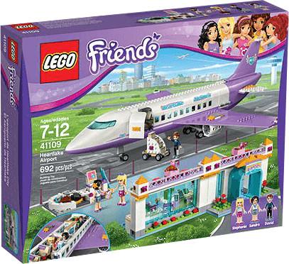 LEGO Friends - L'aéroport de Heartlake City (41109)
