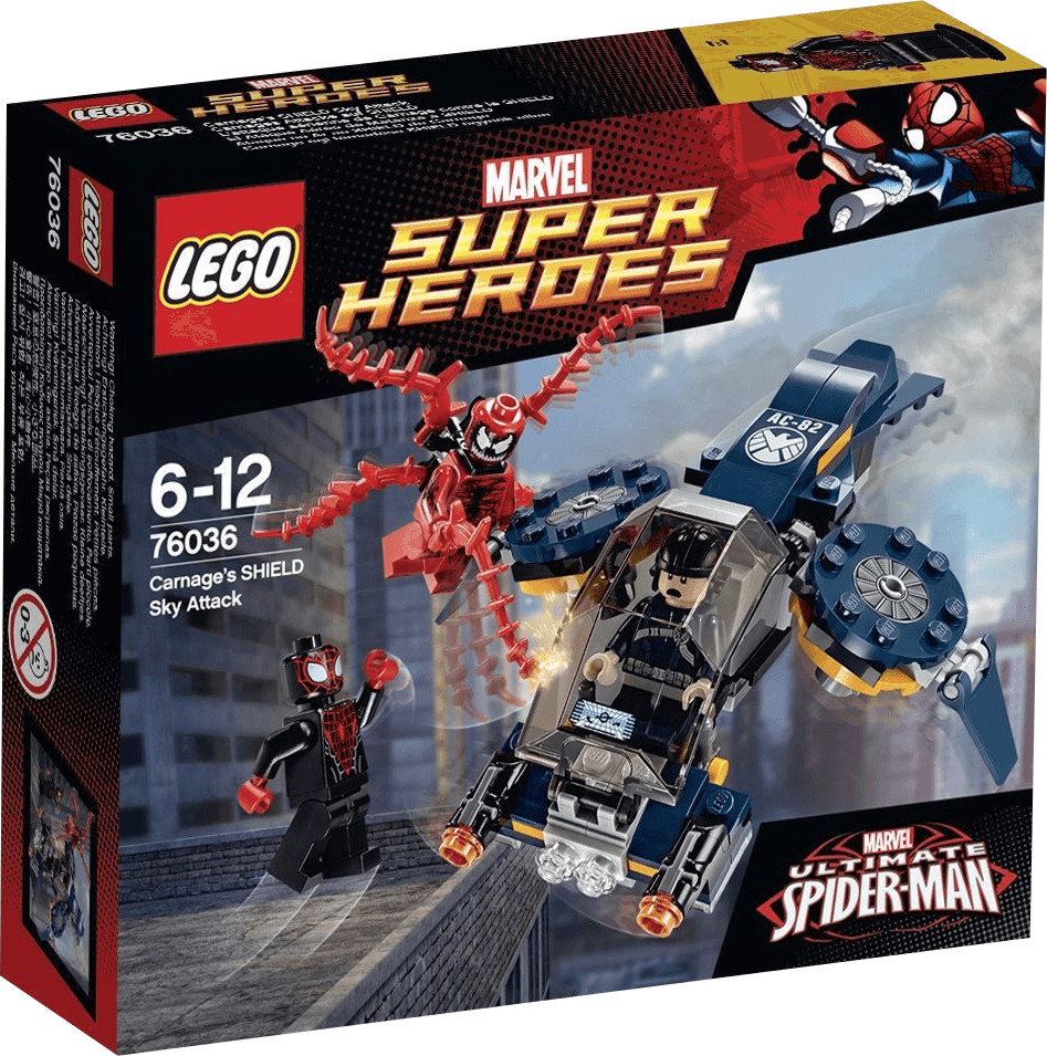 LEGO Marvel Super Heroes - L'attaque aérienne de Carnage contre le SHIELD (76036)