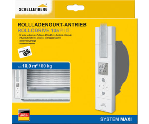 schellenberg rollodrive 105 plus ab 196 64. Black Bedroom Furniture Sets. Home Design Ideas