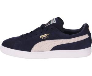 Puma Suede Classic + peacoatwhite au meilleur prix sur