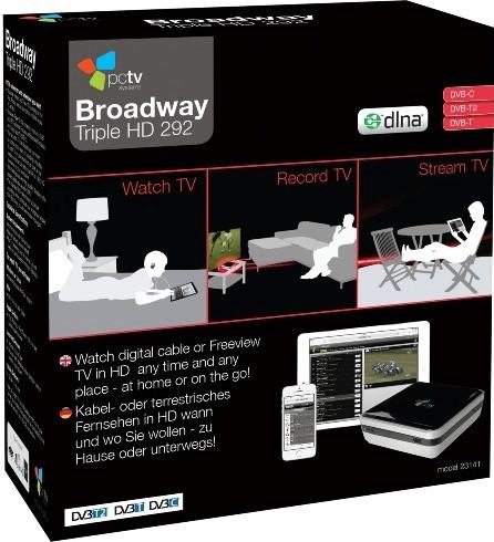PCTV Broadway Triple HD 292