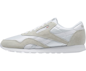 7f4a7d2f9c88a Buy Reebok Classic Nylon white light grey from £38.48 – Compare ...