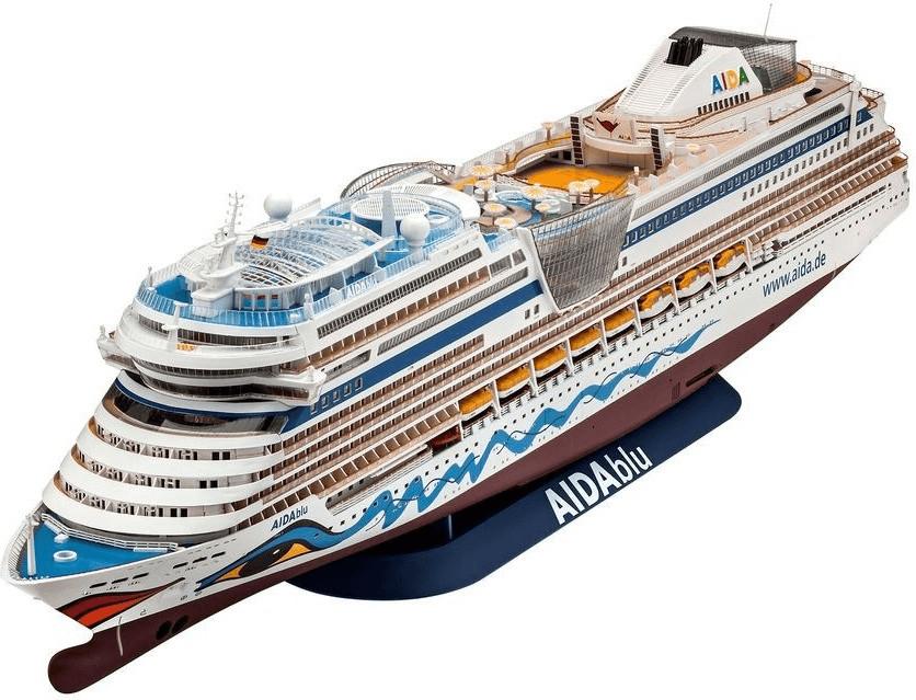 Revell Cruiser Ship AIDAblu, AIDAsol, AIDAmar, AIDAstella (05230)