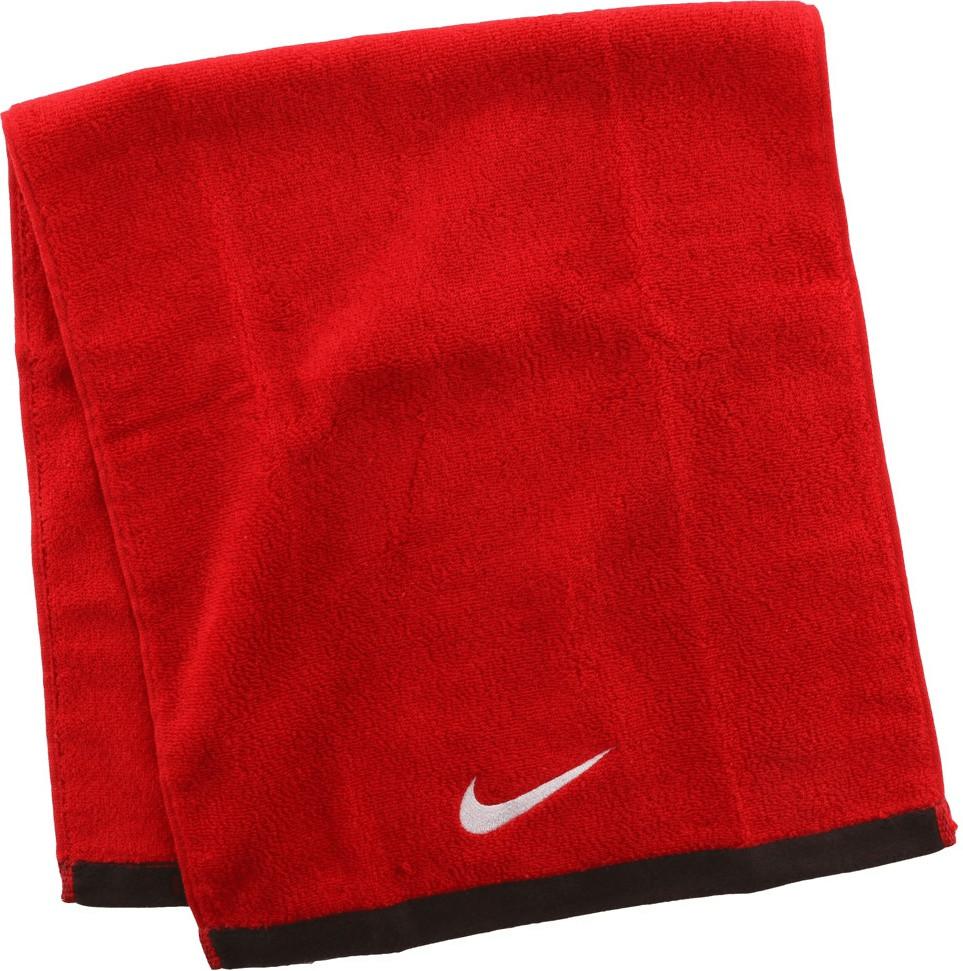 Nike Fundamental Towel Medium rot (40x80cm)