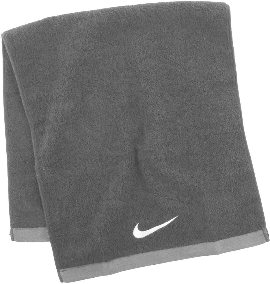 Nike Fundamental Towel Medium schwarz (40x80cm)