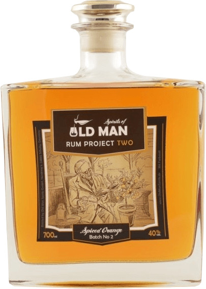 Spirits of Old Man Rum Project Two Spiced Orang...